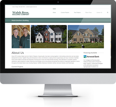 Tcf Designs Web Design Medfield Ma